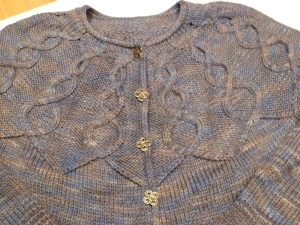 2011, Rhinebeck Sweater, Yoke