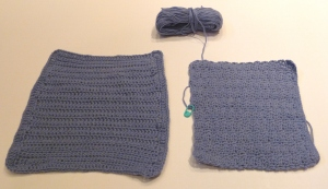 A tale of two washcloths...