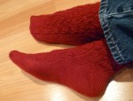Serpentine Socks, 2