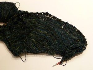 Haruni Shawlette - In Progress
