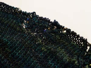 Haruni in progress (beads)