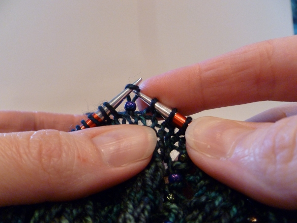 Placing beads, 3