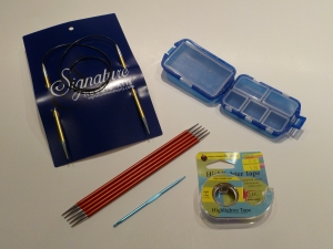 Signature needles and other tools