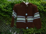 Striped Baby Hoodie - 2