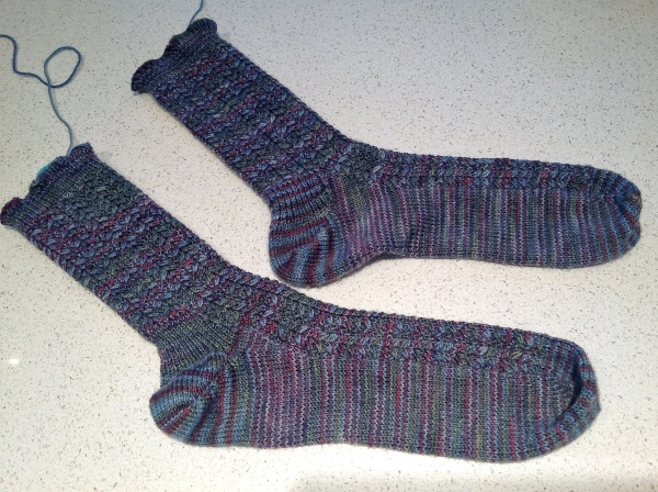 Solemate socks, version 1 and version 2